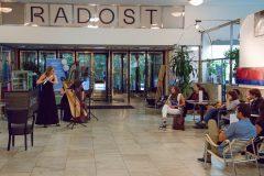 koncert Vážný zájem v Radosti, foto Kateřina Vodrážková