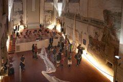 tanečně hudební představení De Profundis v Pražské křižovatce, foto Natalia Pavlushina